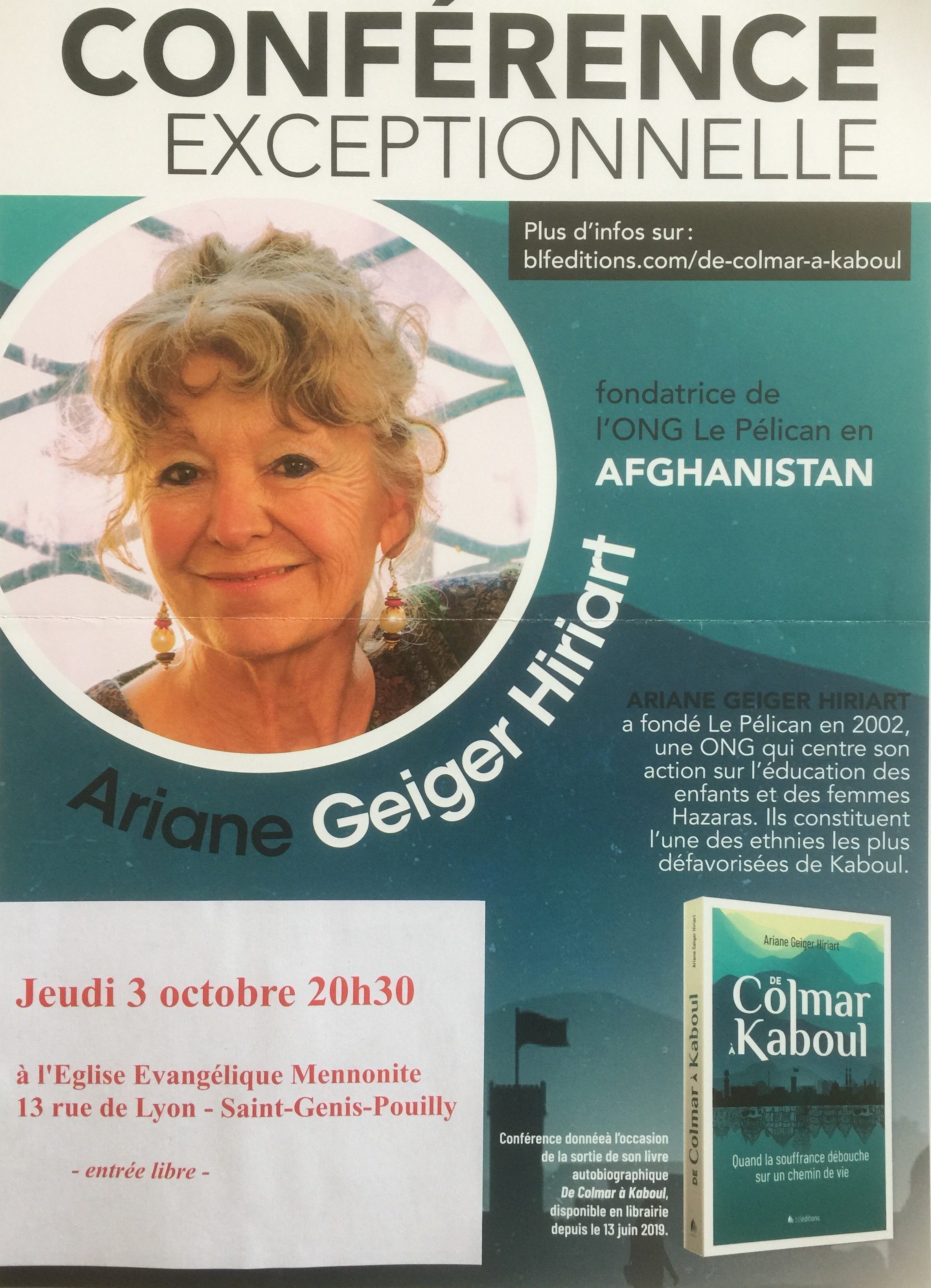 Conférence Ariane Geiger Hiriart